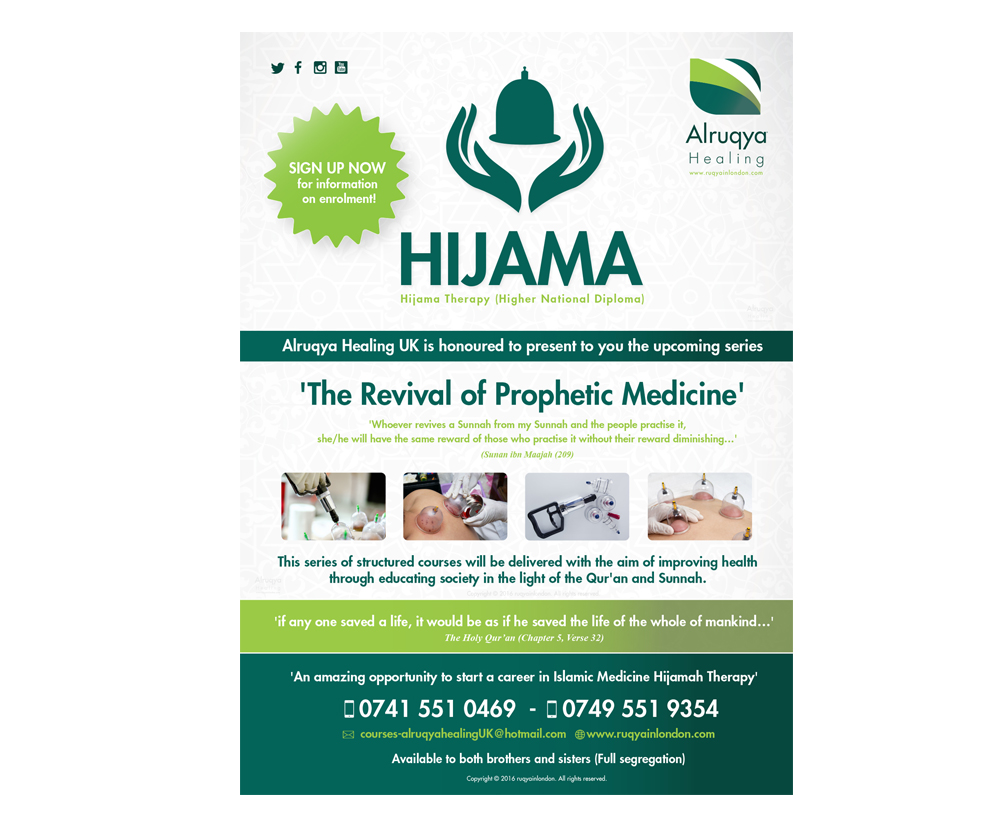 Hijaamah courses in London